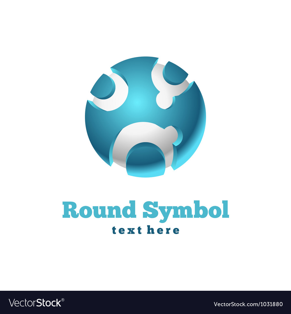 Round icon vector | Price: 1 Credit (USD $1)