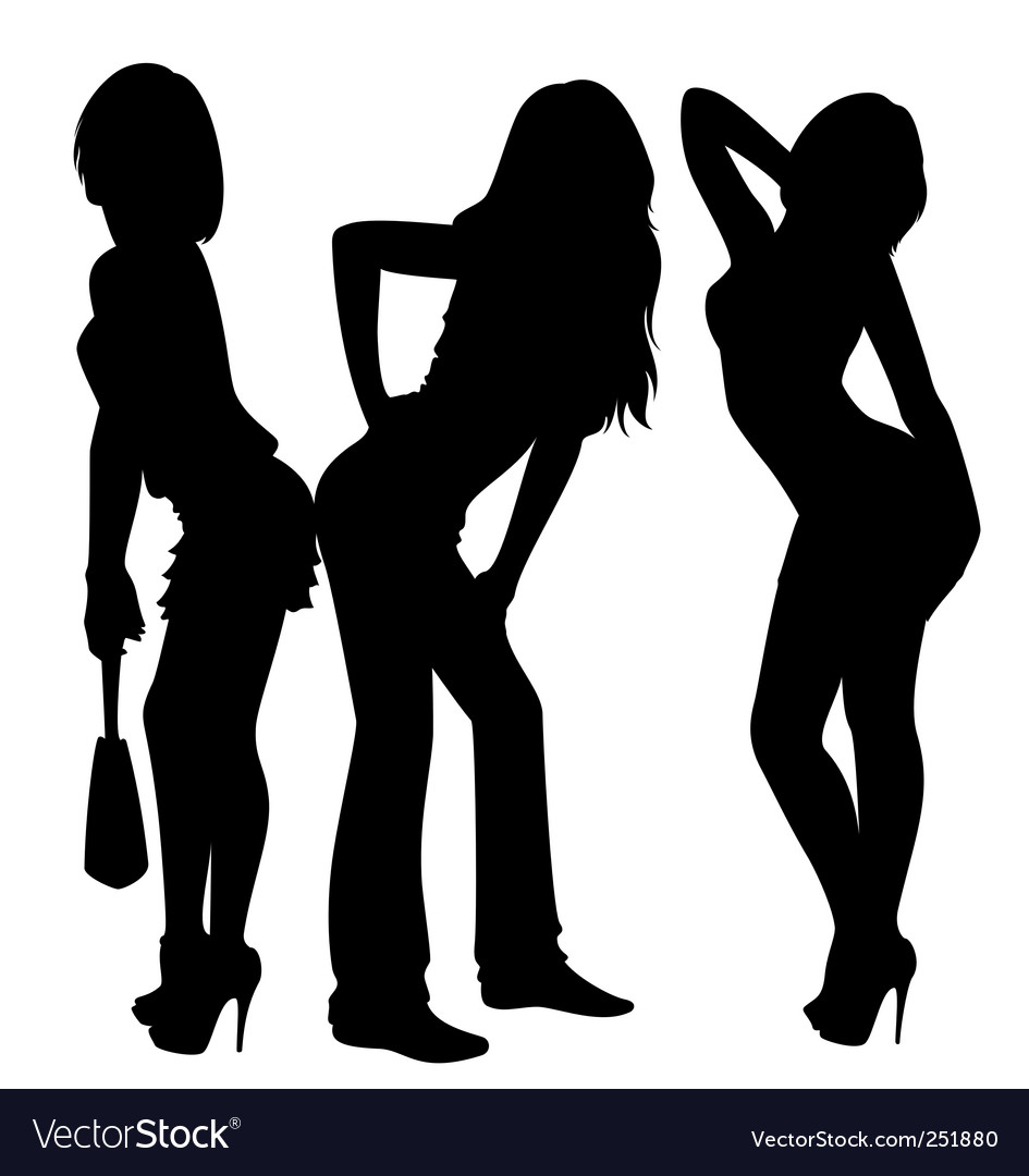 Sexy ladies vector | Price: 1 Credit (USD $1)