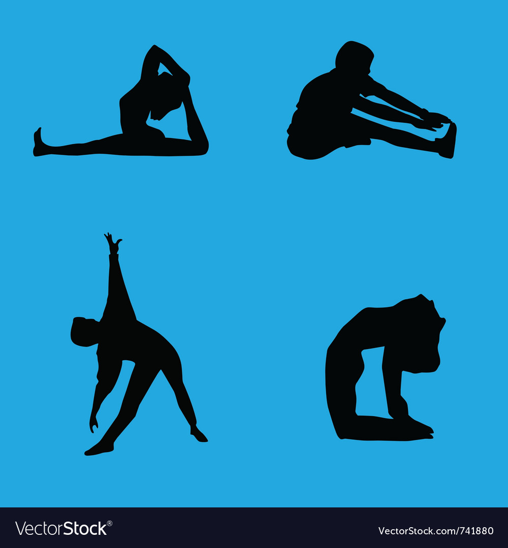 Stretching collection vector | Price: 1 Credit (USD $1)