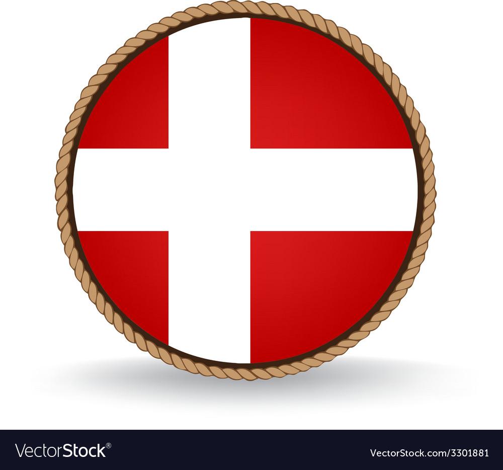 Denmark seal vector | Price: 1 Credit (USD $1)