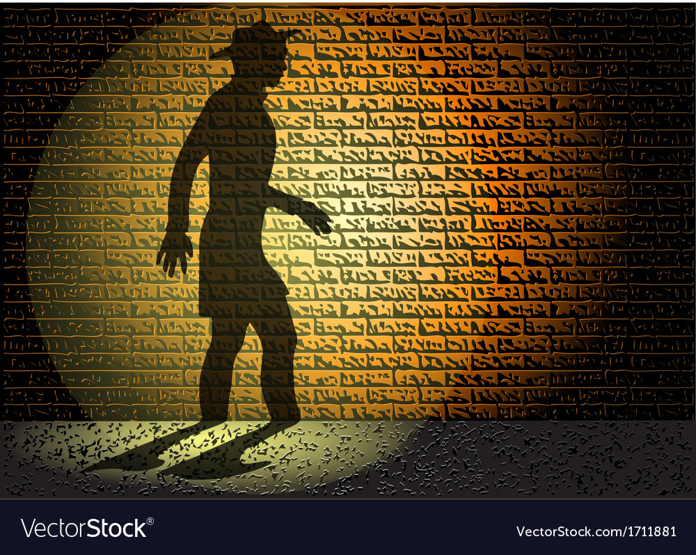Night shadow vector | Price: 1 Credit (USD $1)