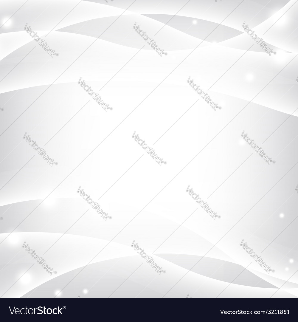 Silver waves background vector | Price: 1 Credit (USD $1)