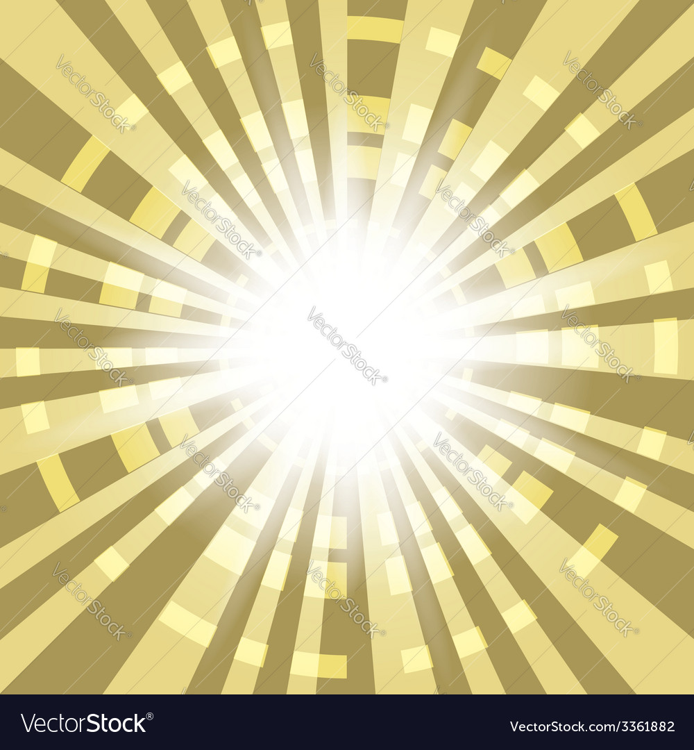 Abstract background with radial rays vector | Price: 1 Credit (USD $1)