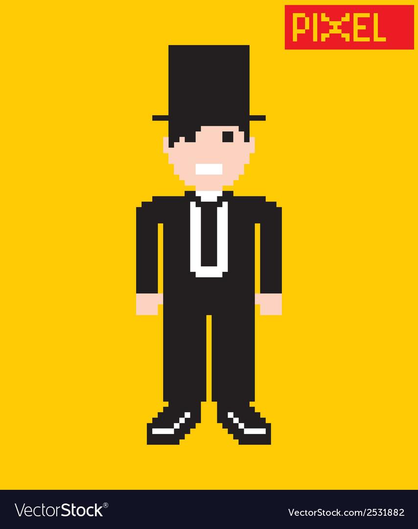 Cartoon person vector | Price: 1 Credit (USD $1)