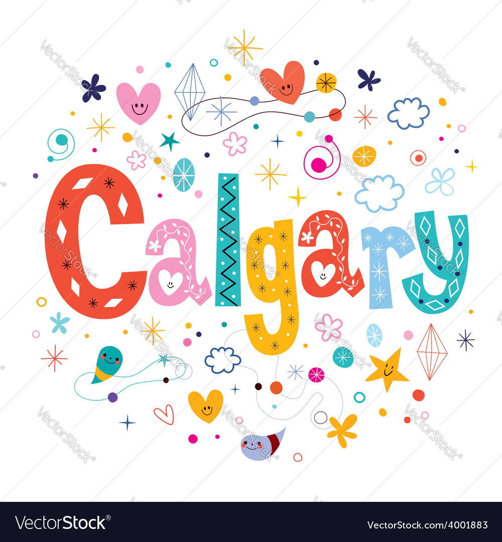 Calgary vector | Price: 1 Credit (USD $1)