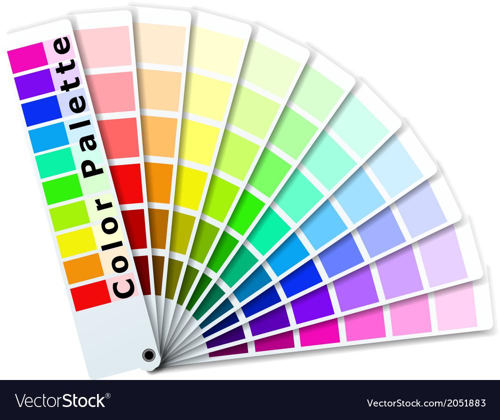 Color palette vector | Price: 1 Credit (USD $1)