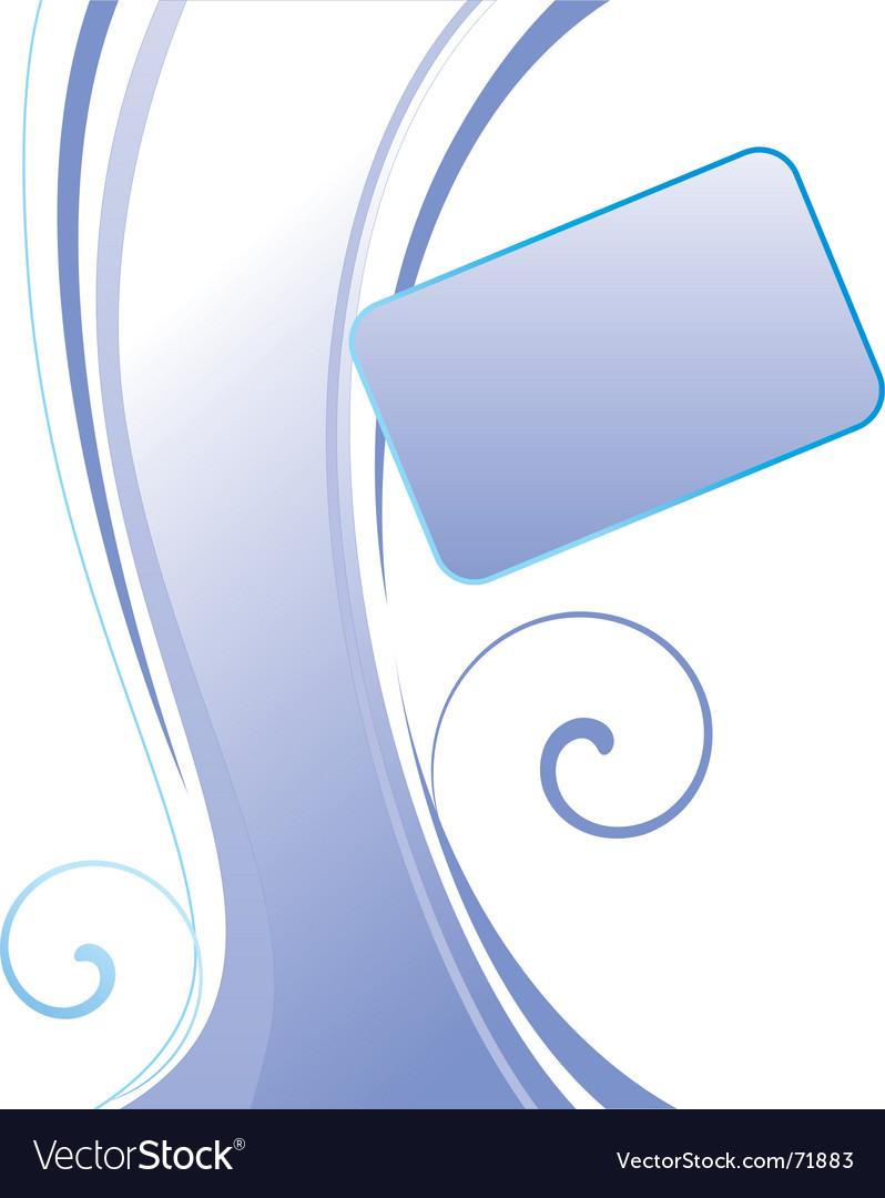 Curvy layout vector | Price: 1 Credit (USD $1)