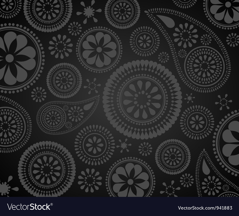 Paisley background vector | Price: 1 Credit (USD $1)
