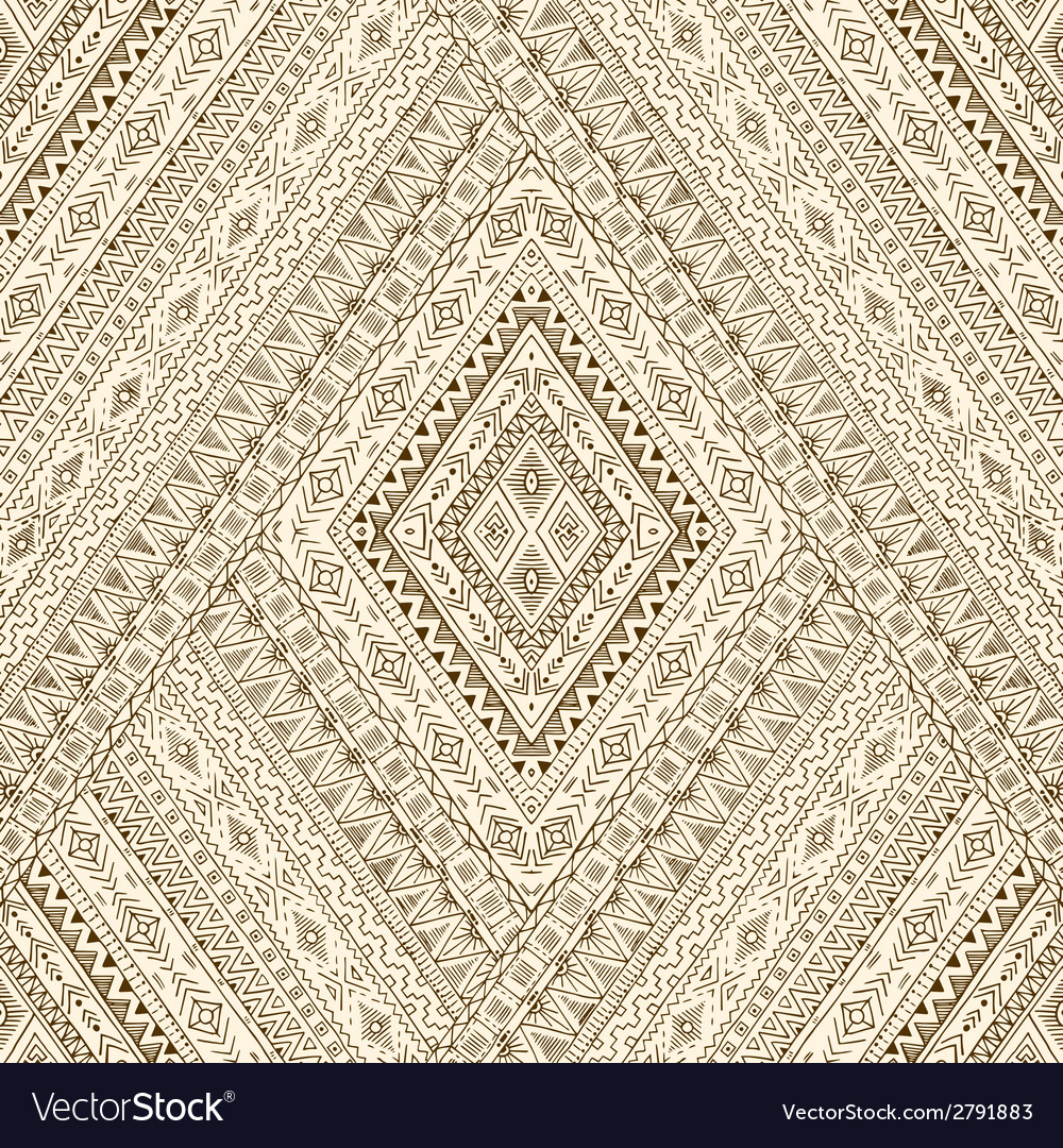 Seamless pattern with geometric elements vector | Price: 1 Credit (USD $1)