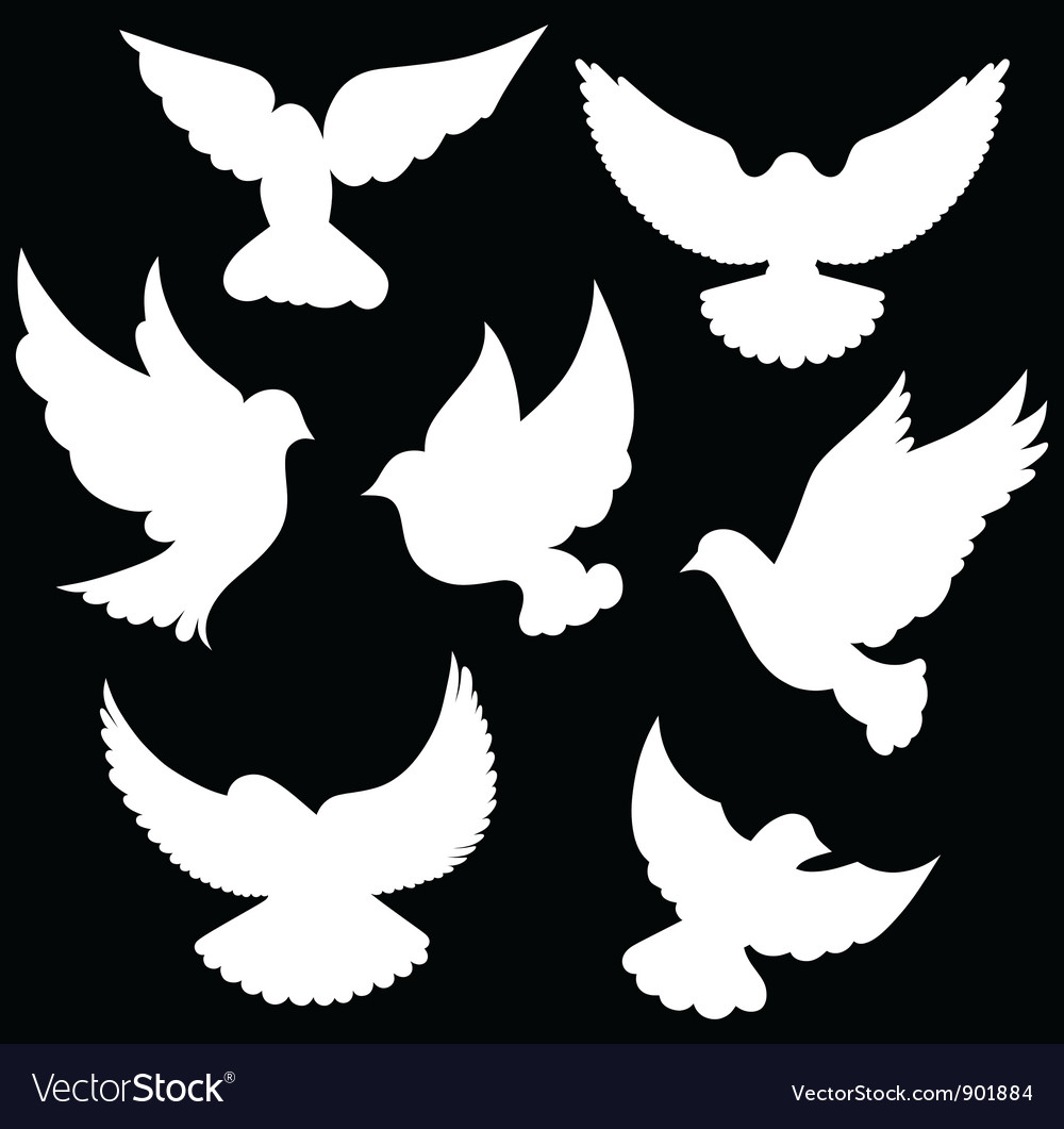 Dove symbol vector | Price: 1 Credit (USD $1)