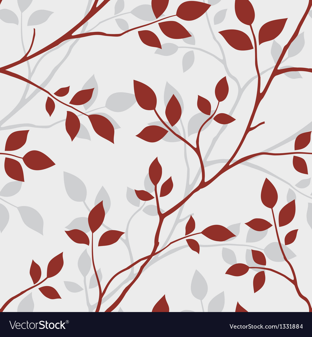 Seamless tree pattern vector | Price: 1 Credit (USD $1)