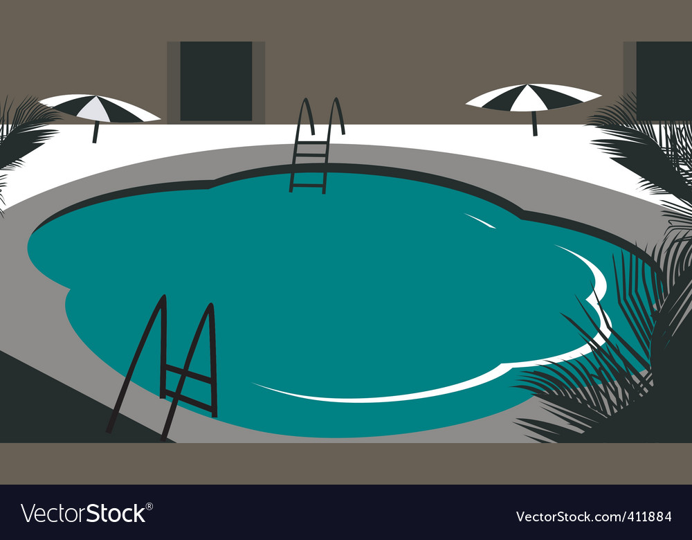 Swimming pool vector | Price: 1 Credit (USD $1)