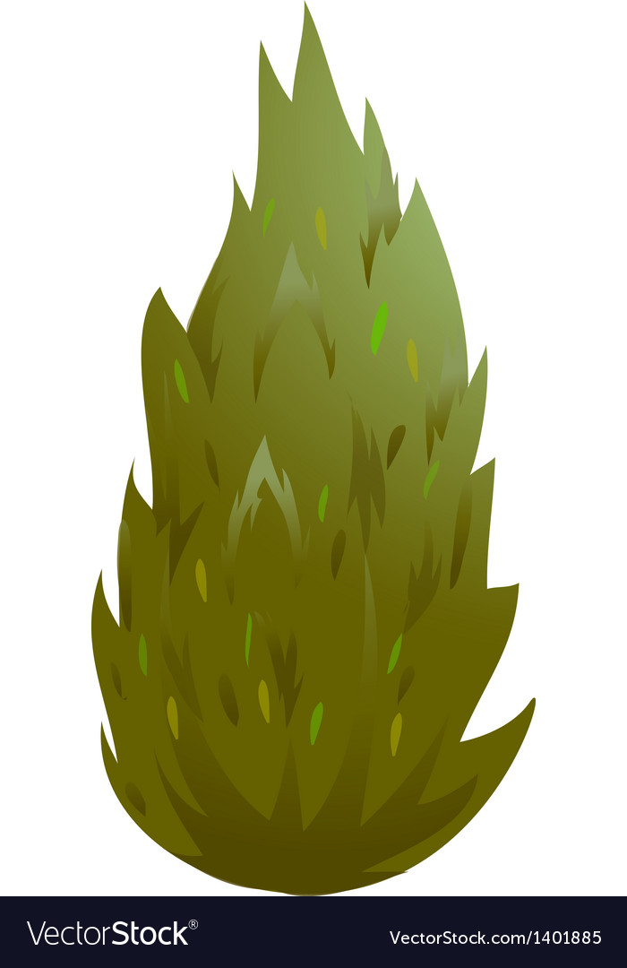 Icon bush vector | Price: 1 Credit (USD $1)