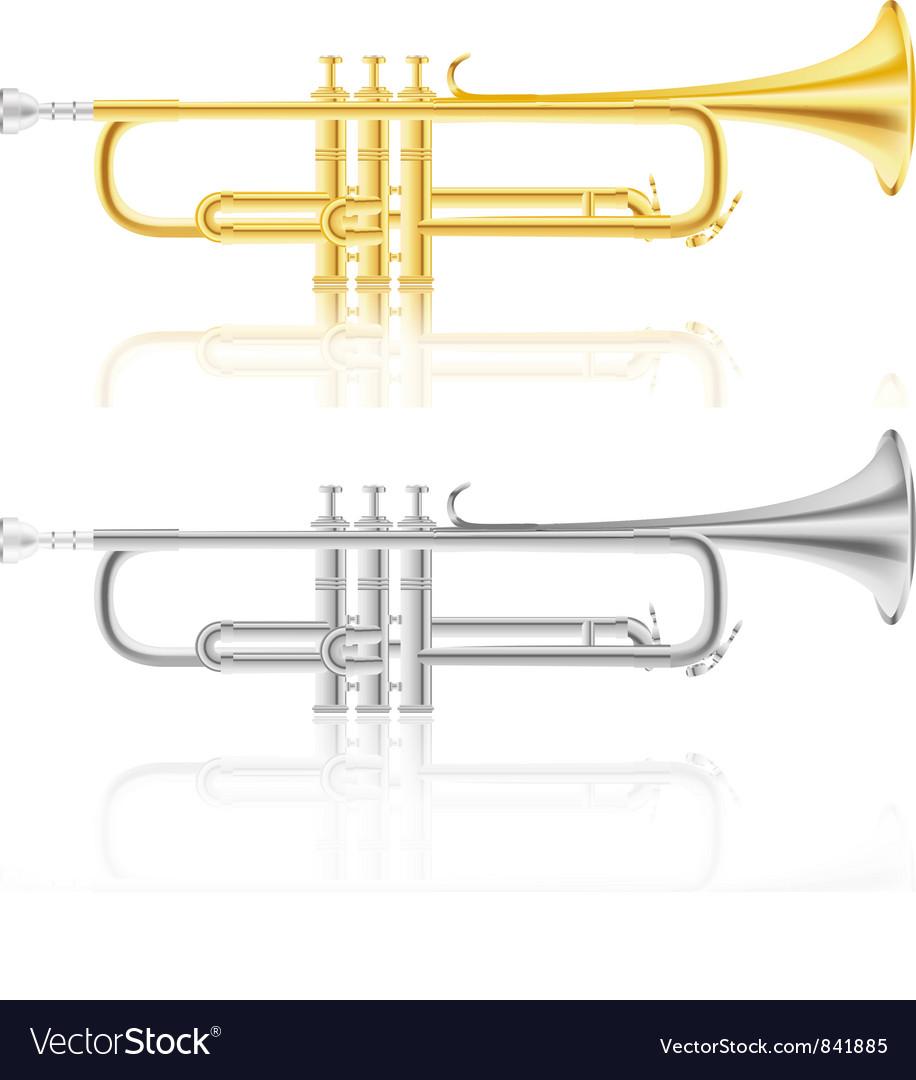 Trumpet vector | Price: 3 Credit (USD $3)