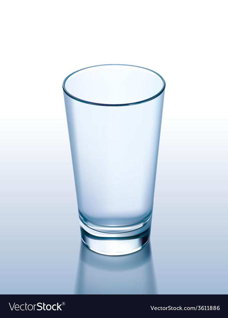 Glass empty vector | Price: 1 Credit (USD $1)