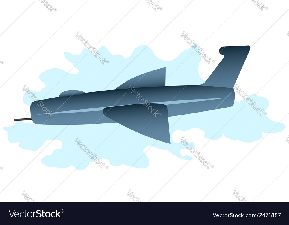 Cartoon plane vector | Price: 1 Credit (USD $1)