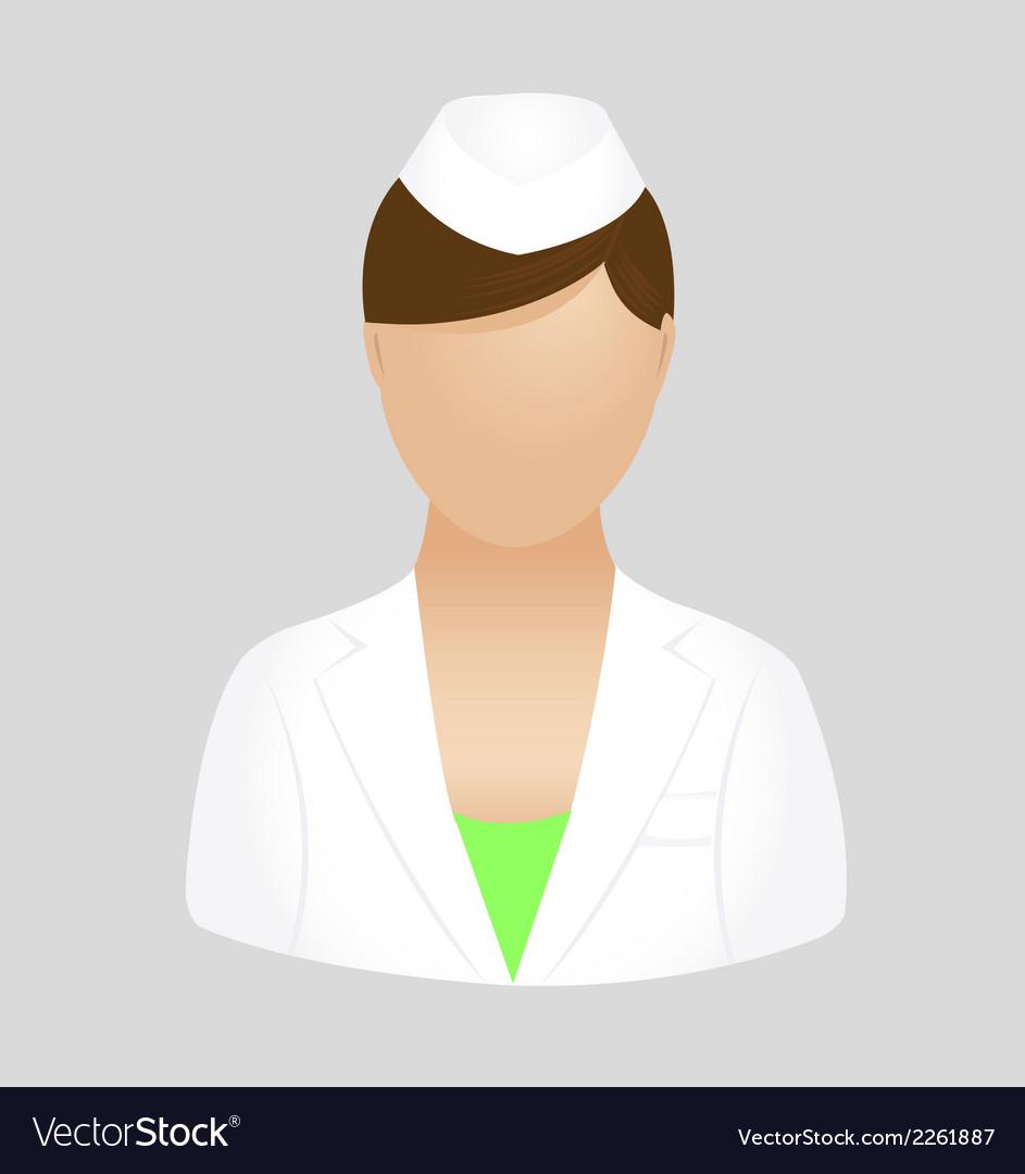 Nurse icon symbol logo clipart vector | Price: 1 Credit (USD $1)