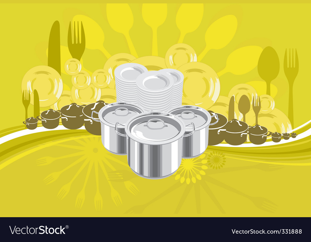 Cookware vector | Price: 3 Credit (USD $3)