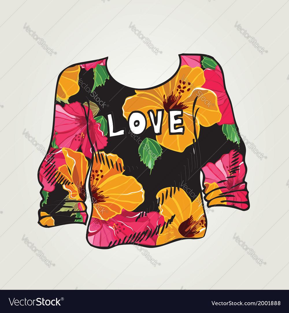 Hipster jumper vintage design vector   Price: 1 Credit (USD $1)