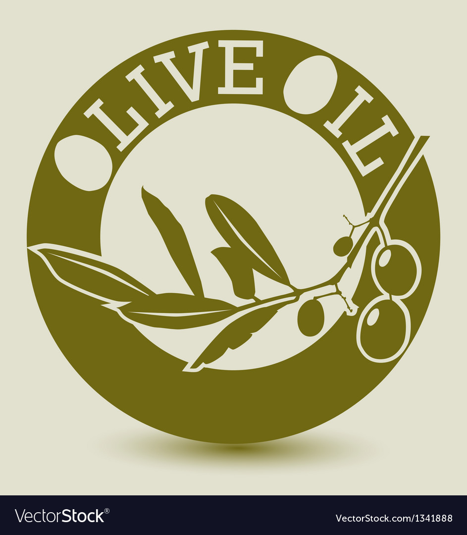 Olive lable vector | Price: 1 Credit (USD $1)