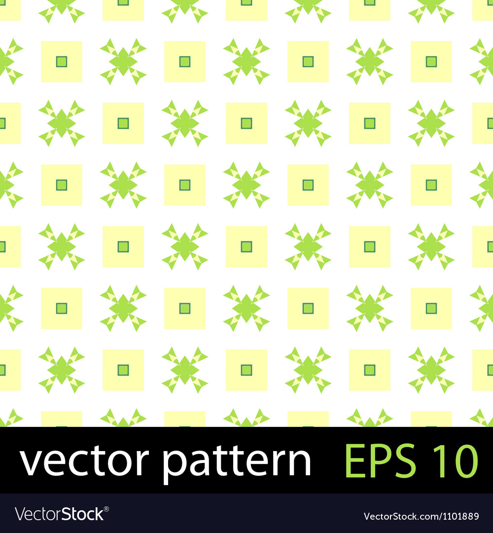 Abstract geometric floral pattern vector | Price: 1 Credit (USD $1)