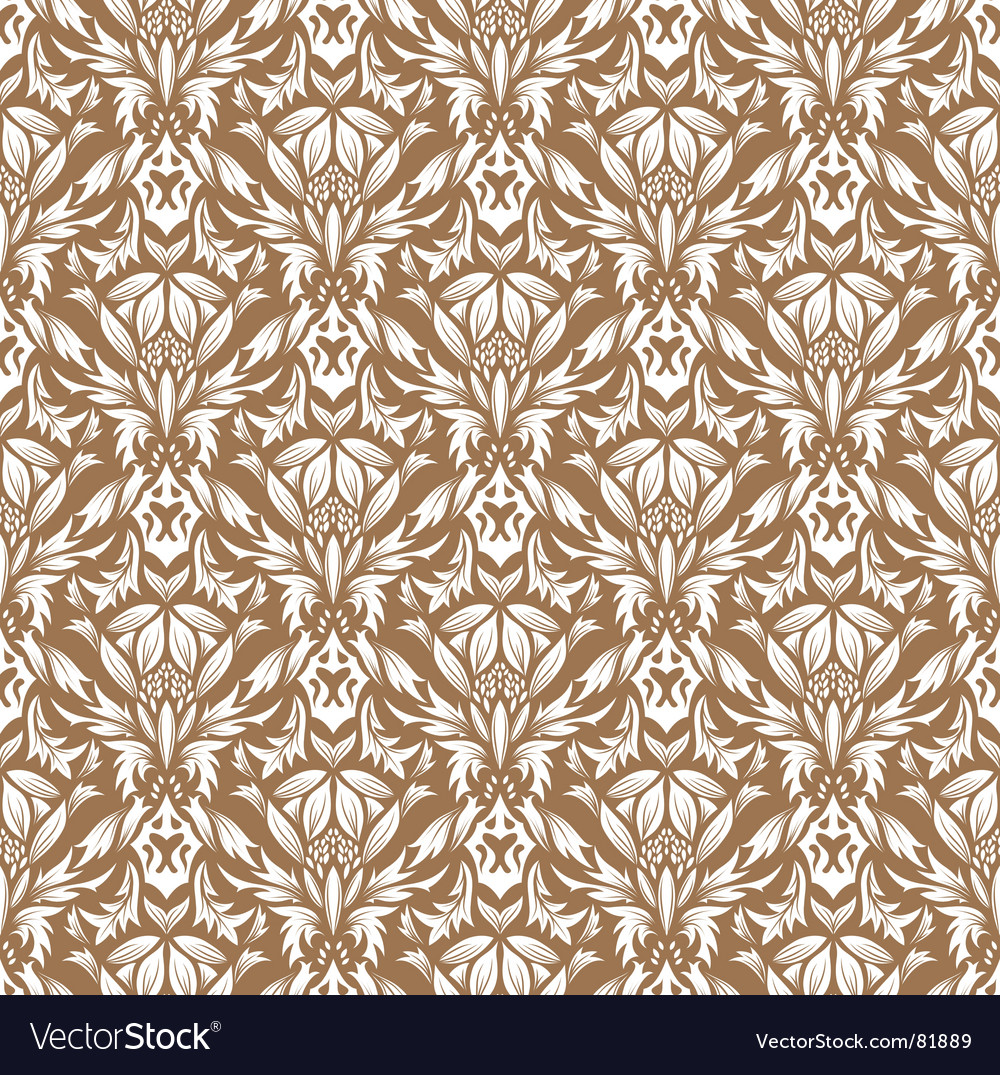 Damask pattern vector | Price: 1 Credit (USD $1)