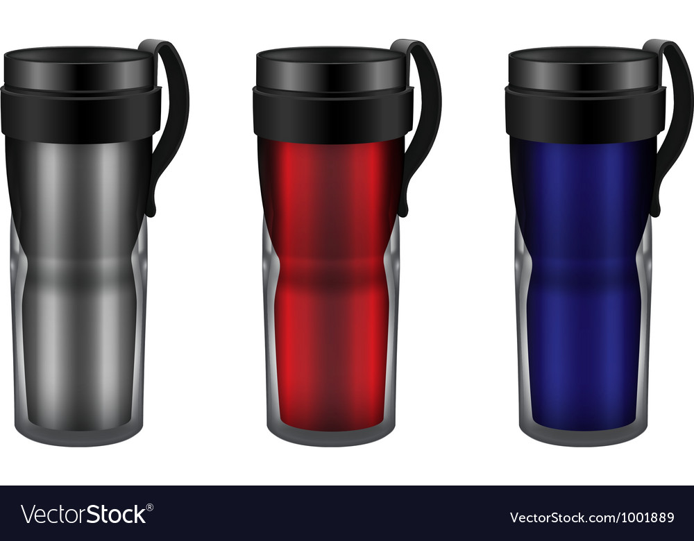 Travel mug vector | Price: 1 Credit (USD $1)