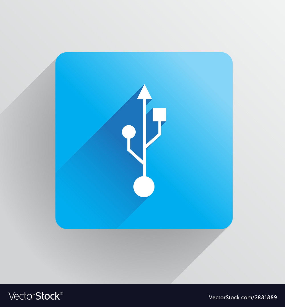 Usb symbol vector | Price: 1 Credit (USD $1)