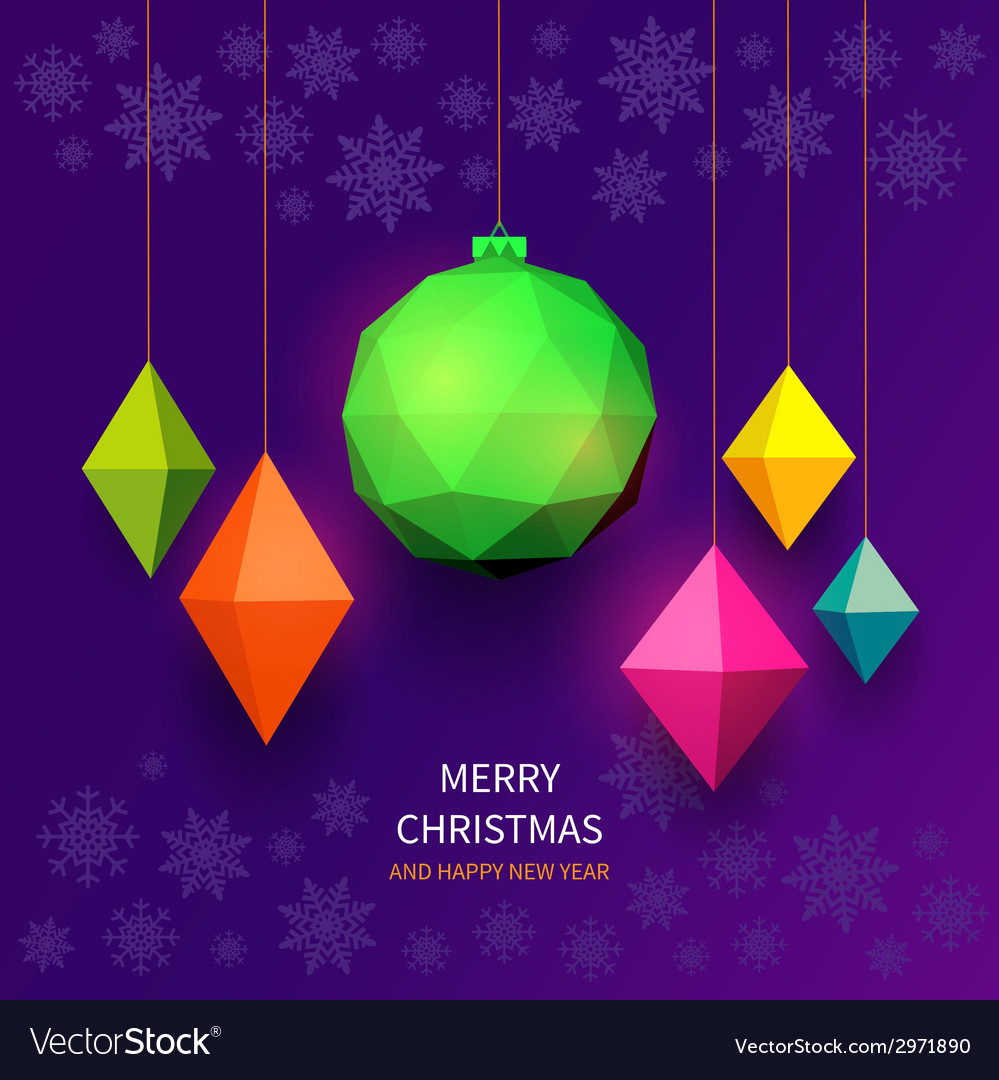 Bright christmas balls vector | Price: 1 Credit (USD $1)