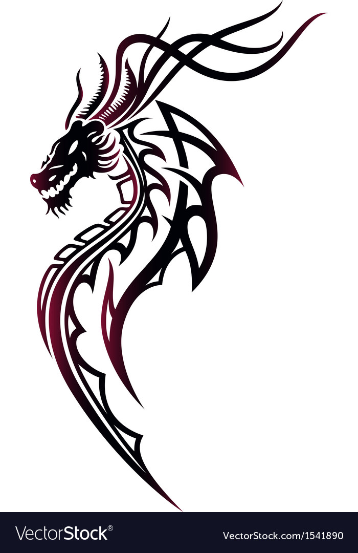 Dragon fire vector | Price: 1 Credit (USD $1)