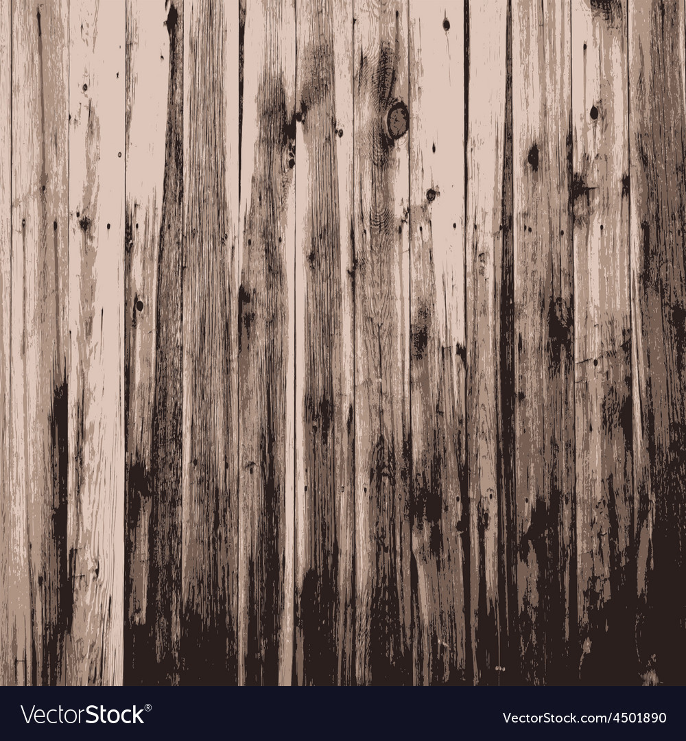 Wooden texture background realistic plank vector | Price: 1 Credit (USD $1)