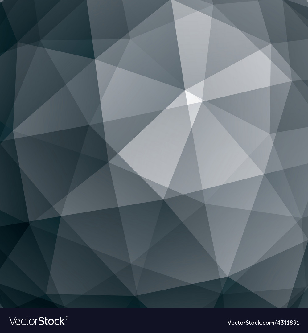 Abstract geometric 3d background grayscale vector | Price: 1 Credit (USD $1)