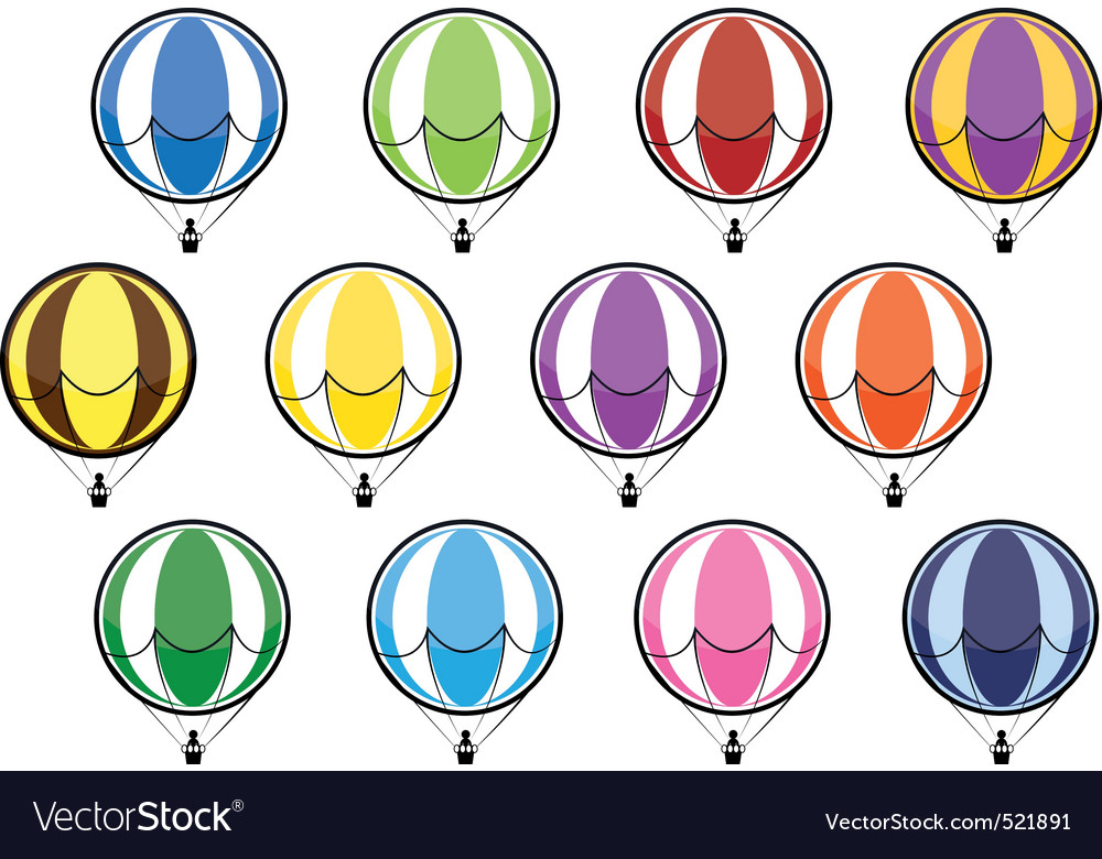 Balloon set vector   Price: 1 Credit (USD $1)
