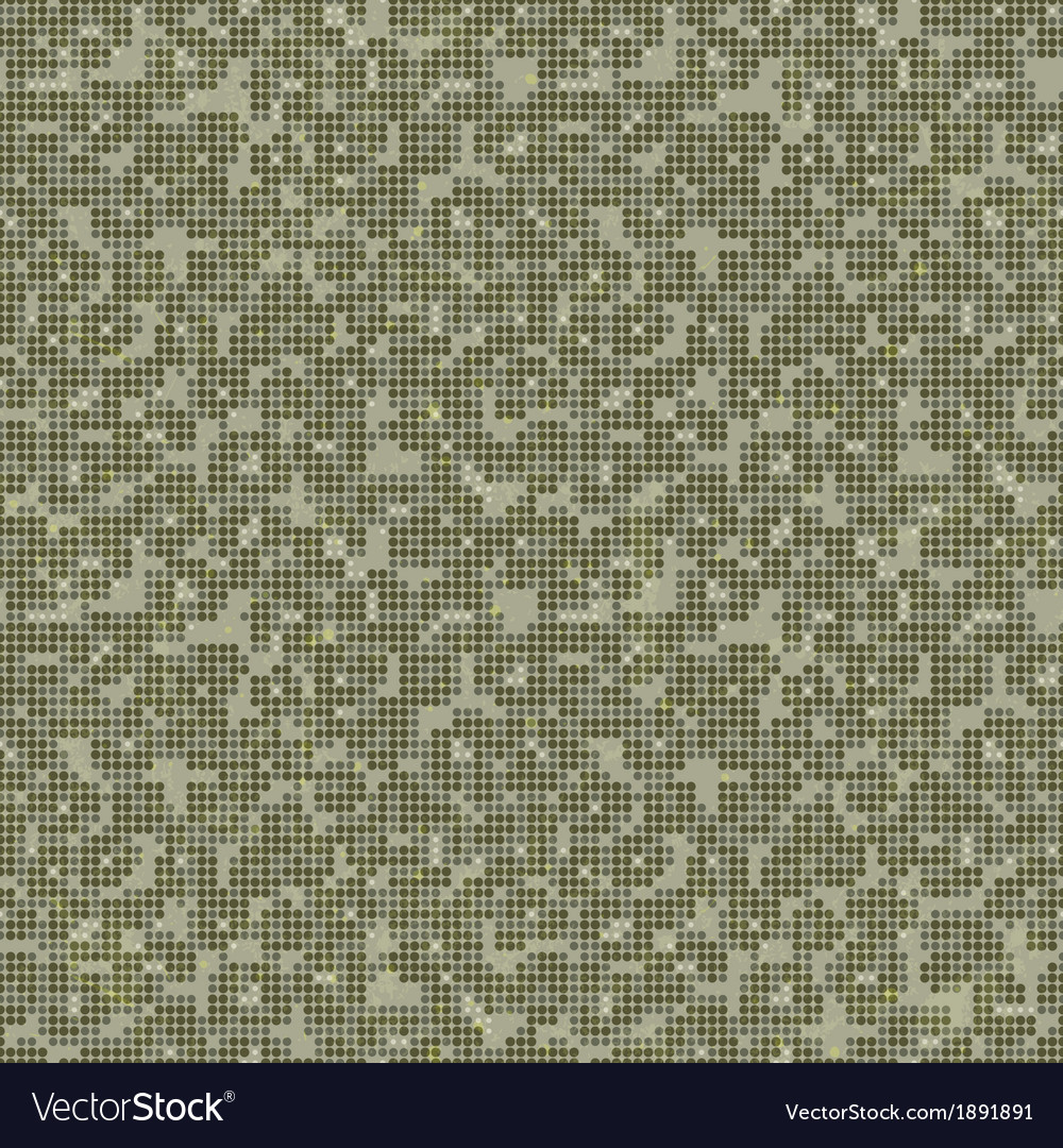 Camo print seamless texture vector | Price: 1 Credit (USD $1)