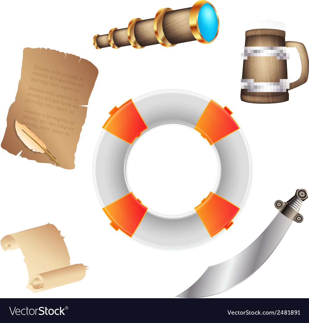 Pirates icon vector | Price: 1 Credit (USD $1)