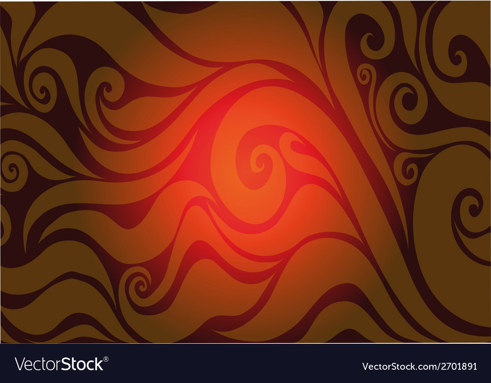 Red seamless background with abstract patterns vector | Price: 1 Credit (USD $1)
