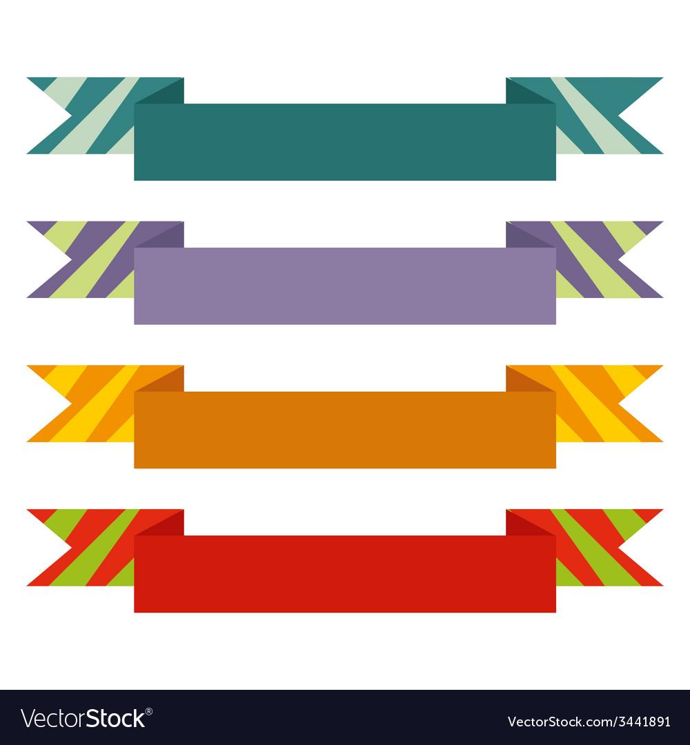 Vintage ribbon banner vector | Price: 1 Credit (USD $1)