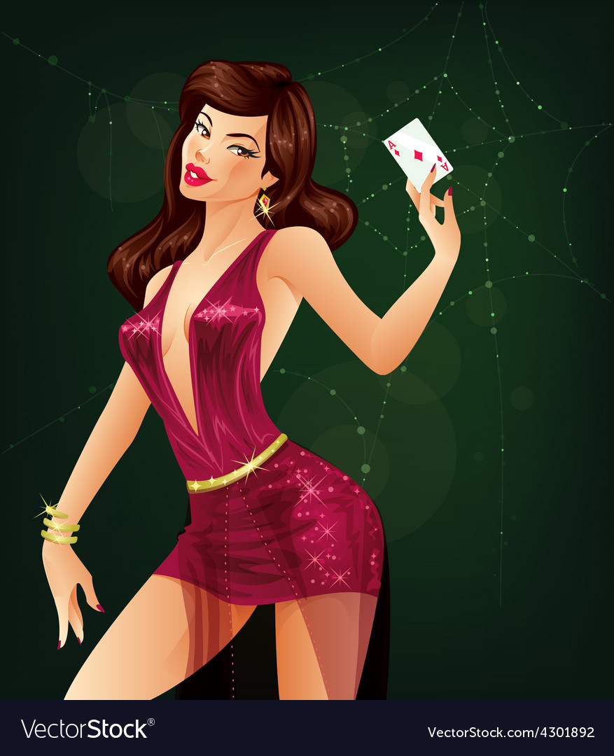 Ace of diamonds vector | Price: 3 Credit (USD $3)