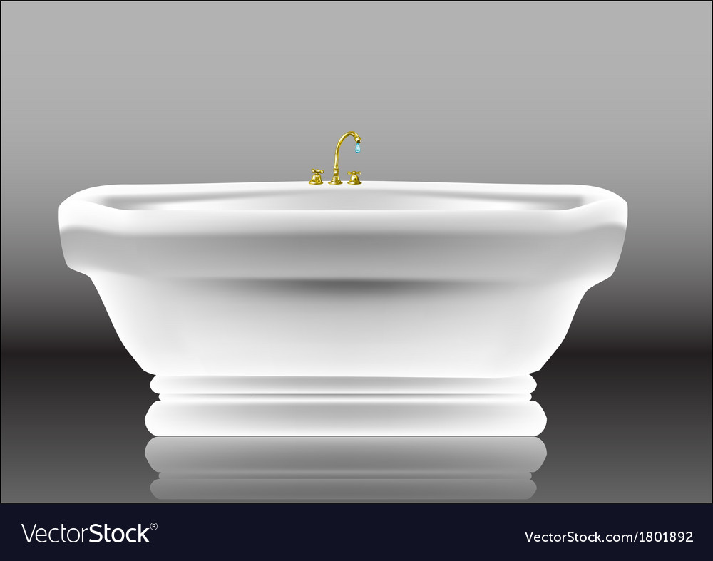 Bathtub vector | Price: 1 Credit (USD $1)