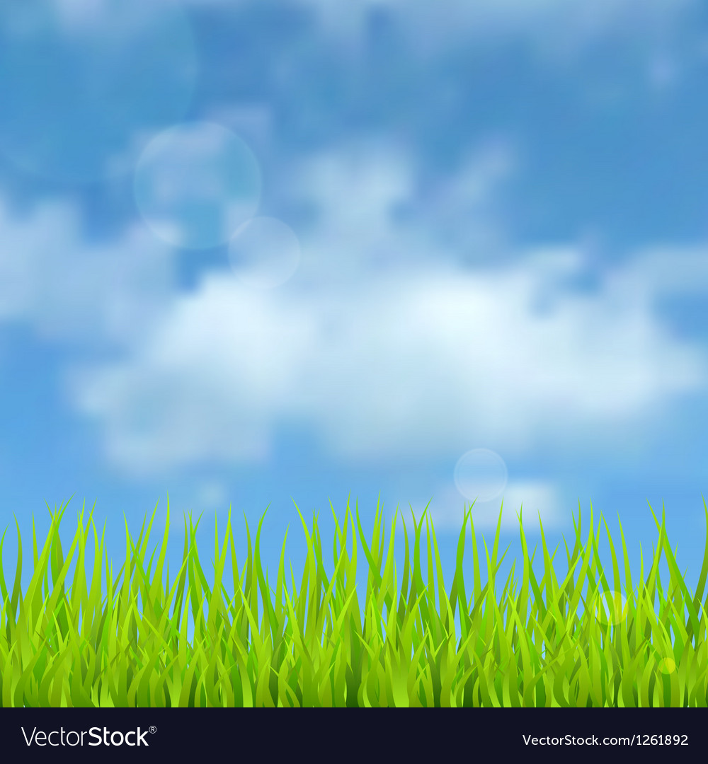 Spring natural background vector | Price: 1 Credit (USD $1)