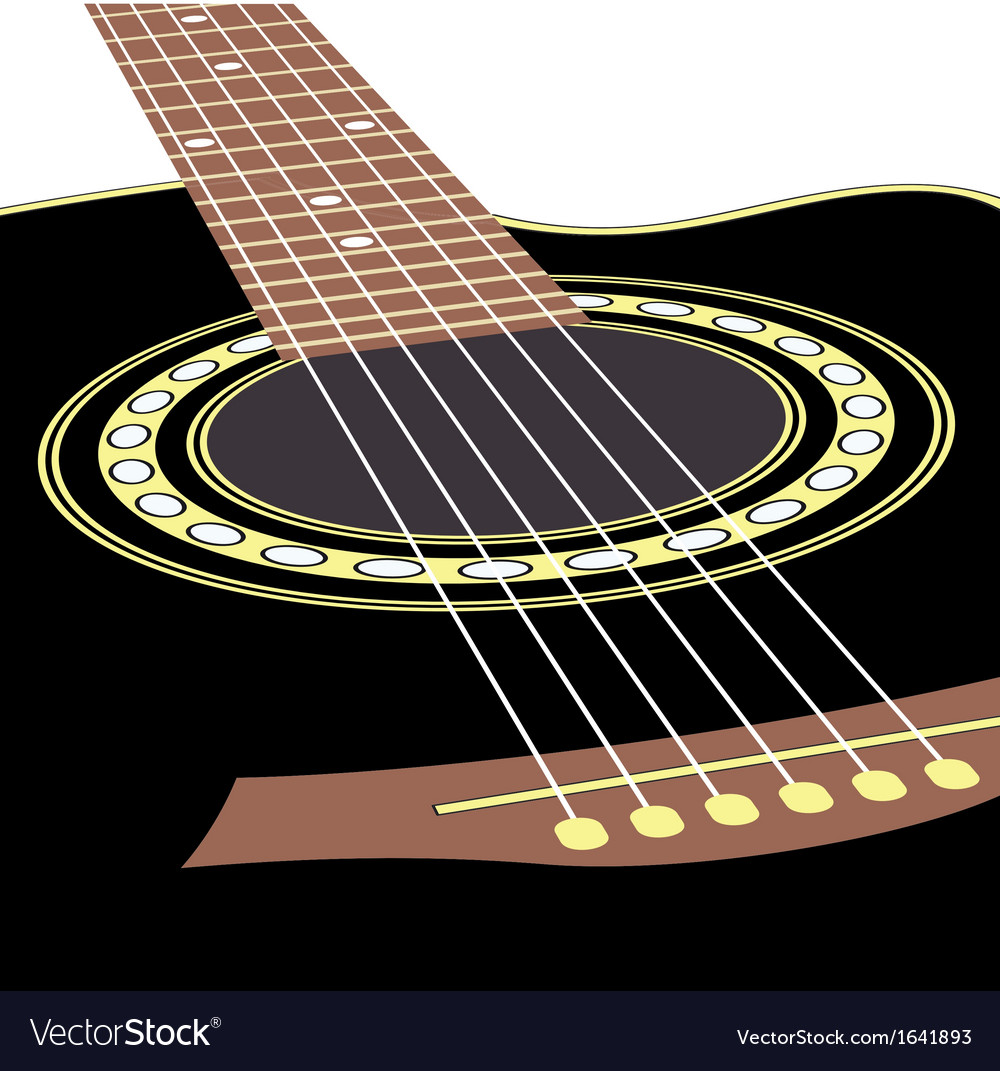 Acoustic guitars vector | Price: 1 Credit (USD $1)