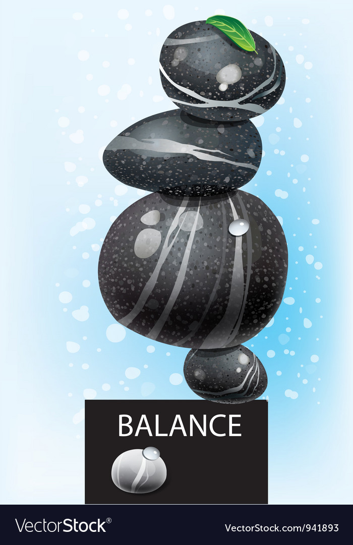 Balanced concept vector | Price: 3 Credit (USD $3)