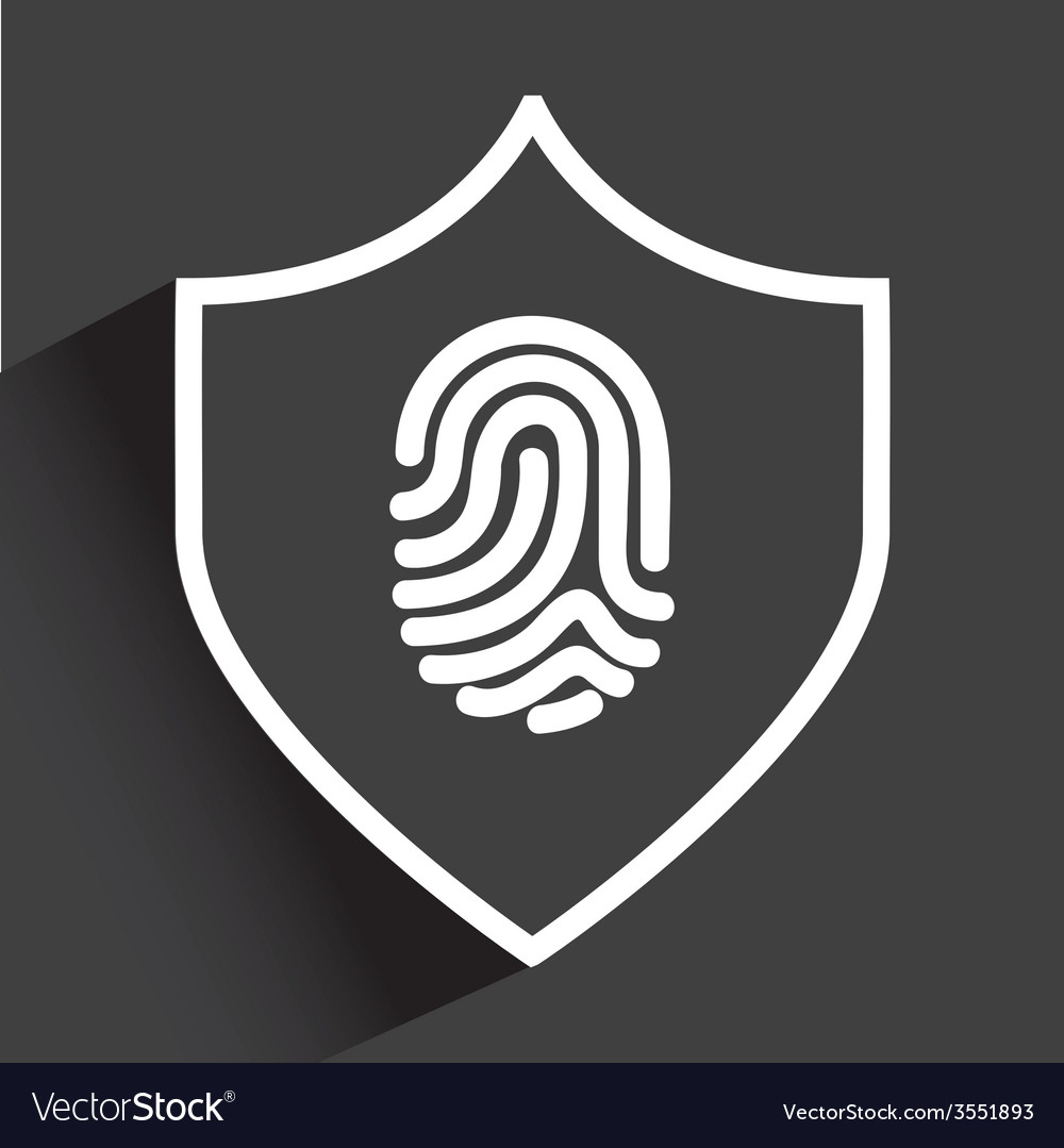 Computer security vector | Price: 1 Credit (USD $1)