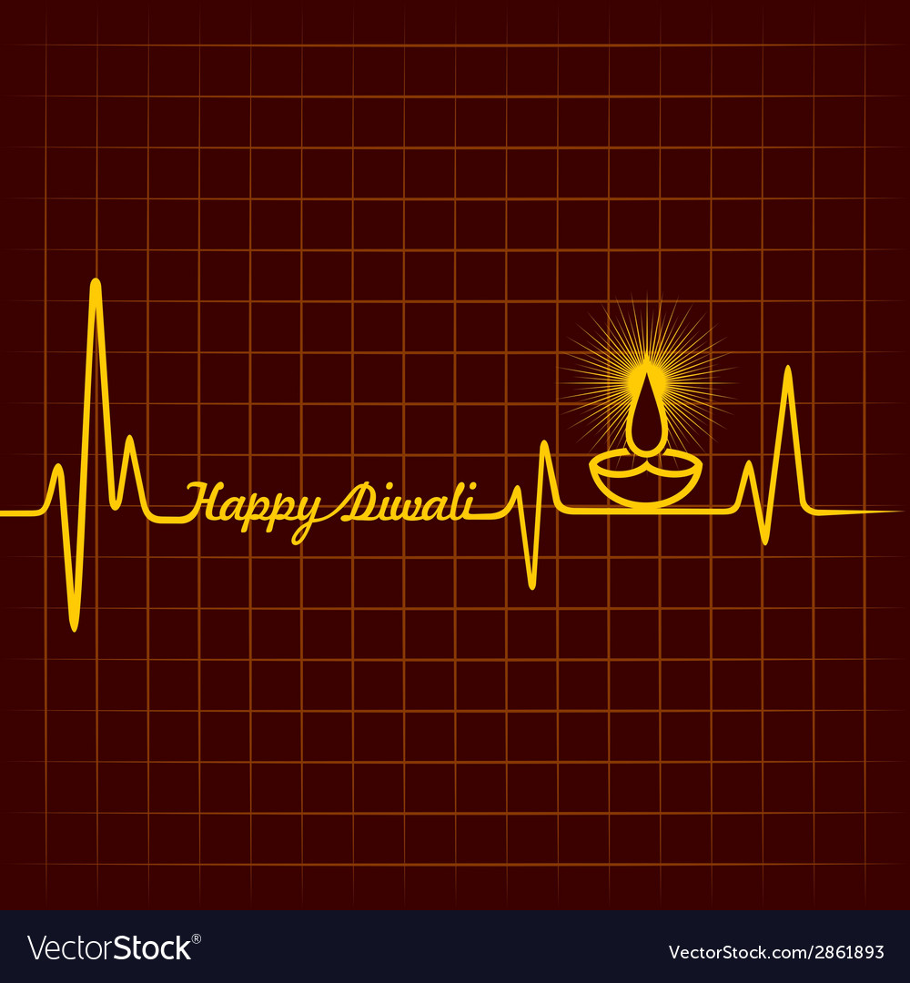Diwali greeting background vector | Price: 1 Credit (USD $1)