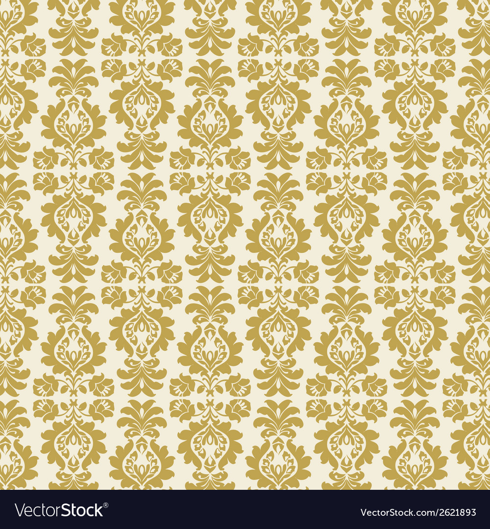 Gold damask vector | Price: 1 Credit (USD $1)
