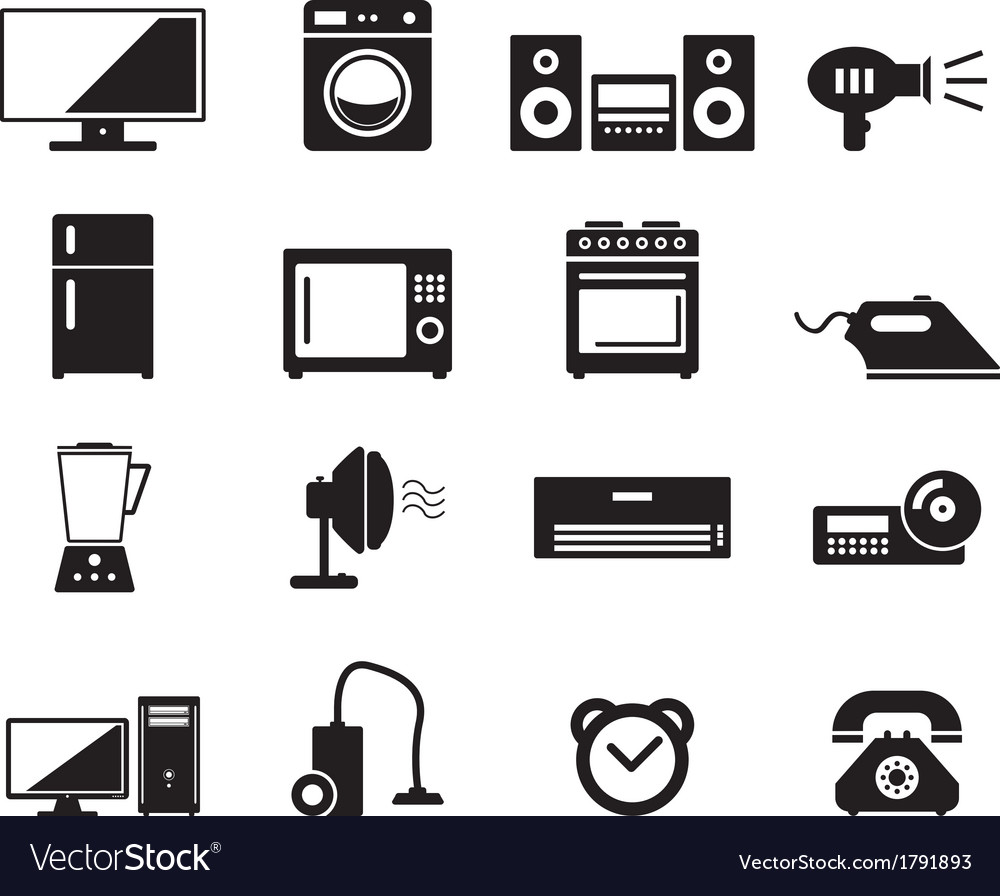Home devices vector | Price: 1 Credit (USD $1)