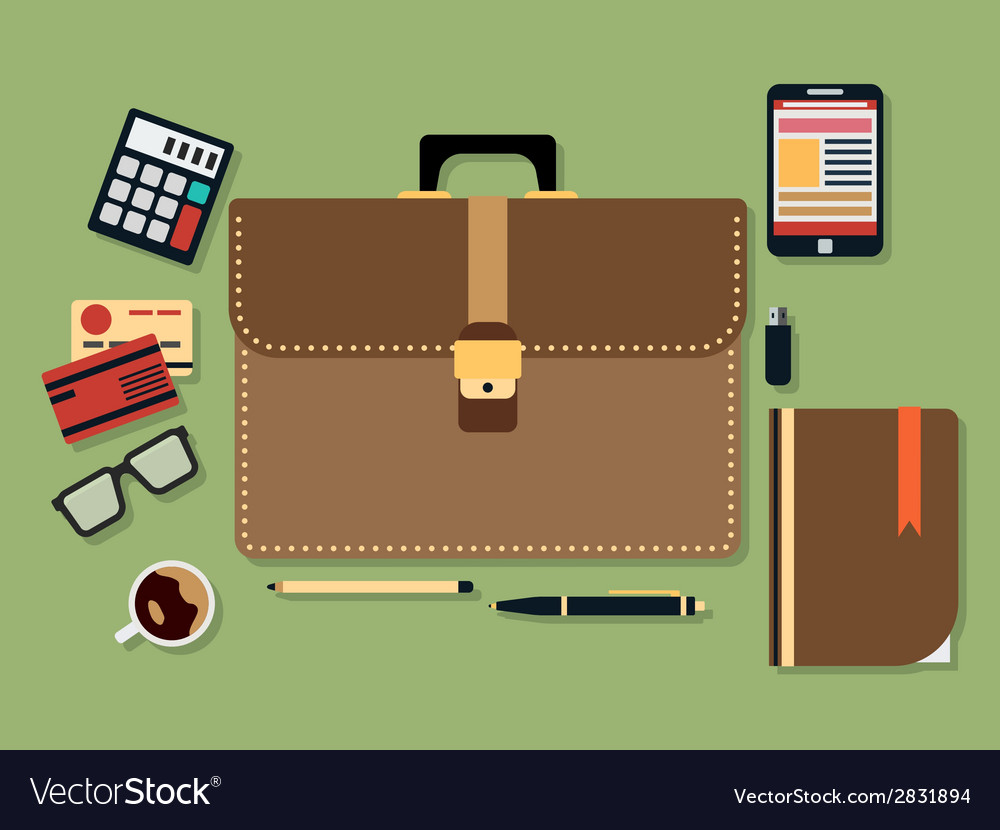Business flat vector | Price: 1 Credit (USD $1)