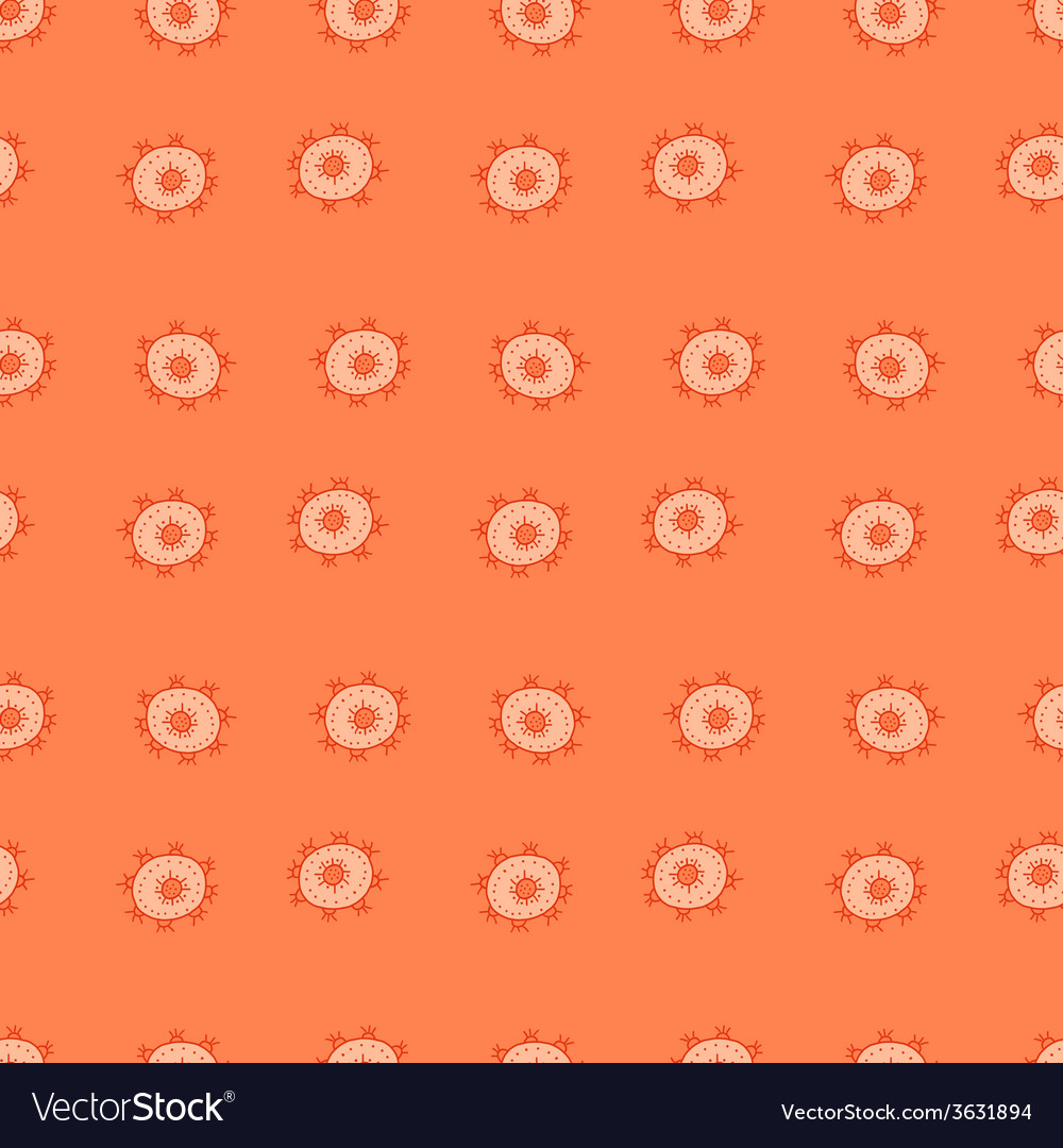 Hand draw abstract seamless pattern vector | Price: 1 Credit (USD $1)