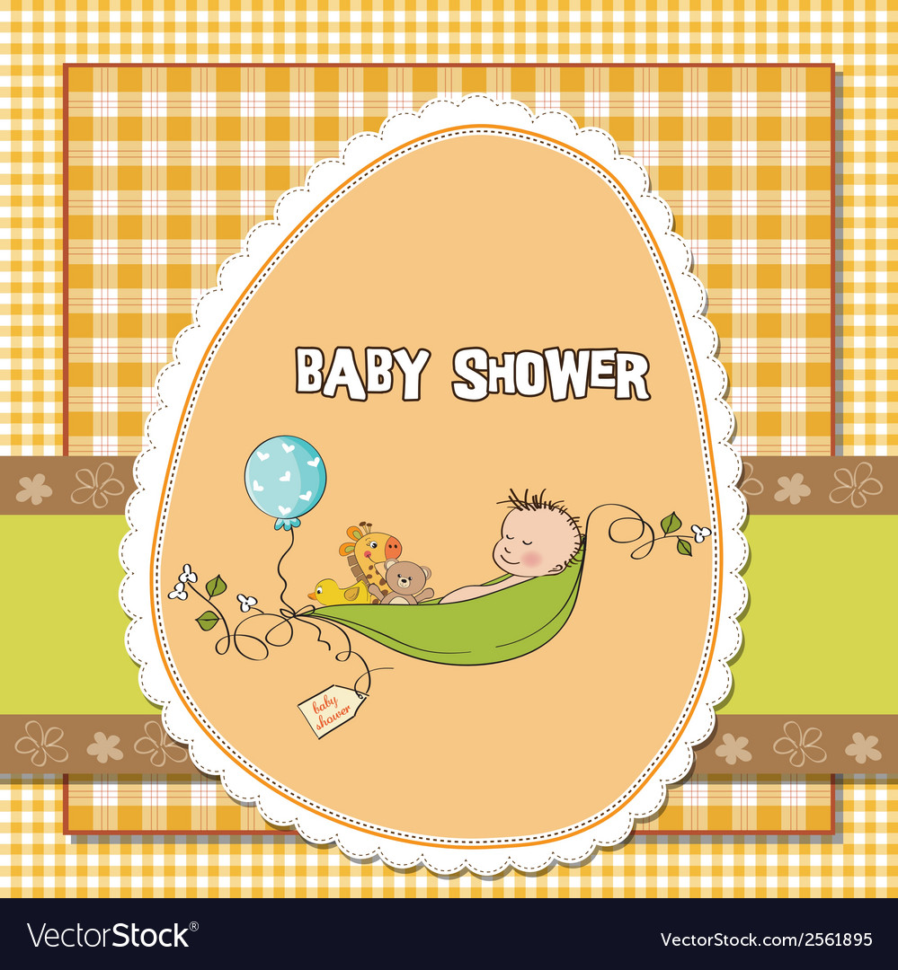 Little boy sleeping in a pea been baby vector | Price: 1 Credit (USD $1)