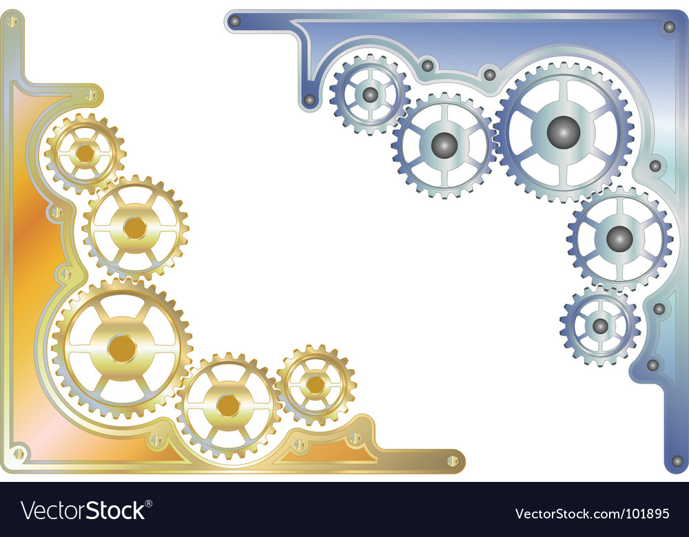 Sprockets corner vector | Price: 1 Credit (USD $1)